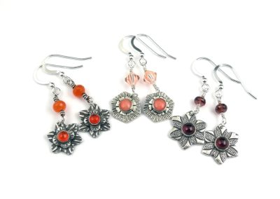Autumnal earrings