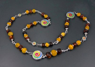 Joyful Amber Necklace