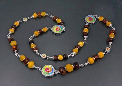 Joyful Amber Necklace
